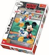 Mickey en Donald, 100 stukjes Puzzel