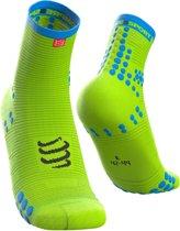 Compressport Pro Racing Socks V3.0 Run High Fluo Yellow Hardloopsokken