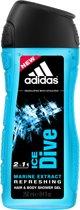 Adidas - Ice Dive - 250 ml - Douchegel