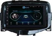 Navigatie radio Citroen C1 Peugeot 108 Toyota Aygo, Android 8.1, 7 inch scherm, GPS, Wifi,