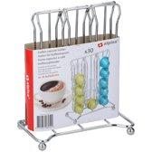 Koffie cupshouder/capsulehouder voor 30 kleine capsules - Koffie/keuken accessoires