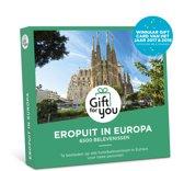 GiftForYou Cadeaubon - Eropuit in Europa
