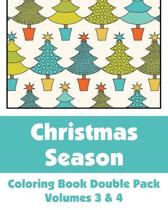 Christmas Season Coloring Book Double Pack (Volumes 3 & 4)