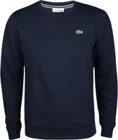 Lacoste Men's Sport Crewneck Fleece Tennis Sweatshirt Heren Sporttrui - Maat S  - Mannen - blauw