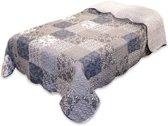Unique Living Emily - Bedsprei - Eenpersoons - 170x220 cm - Multi