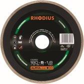 Rhodius Diamant slijpschijf DG 50 Alpha, 180 x 30 mm, inclusief reductieringen 25,4 + 22,23 mm