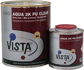 Vista Aqua 2K PU Clear Blank Extra mat 1 Liter