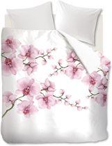 Fijne Katoen Dekbedovertrek Roze Bloemen | 200x200/220 | Ademend En Soepel | Hoogwaardige Kwaliteit