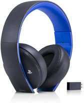 Sony PlayStation 4 Wireless 7.1 Virtueel Surround Gaming Headset PS4 + PS3 + PS Vita + PC + MAC + Mobile - Zwart