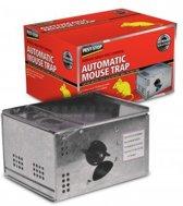 Automatische metalen muizenval (vangt tot 15 muizen)