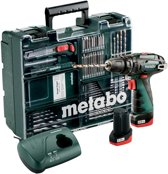 Metabo Accu-klopboormachine 10.8 Volt PowerMaxx SB Mobile Workshop