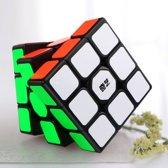 Magic cube-QIYI-speedcube-sail-Breinbreker puzzel black-zwart