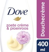 Dove Zoete Crème Pioenroos Douchecrème - 400 ml