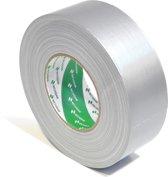 Nichiban   -  duct tape    -  50 mm x 50 m   -  Zilver / Grijs