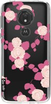 Casetastic Softcover Motorola Moto G7 Power - Pink Roses