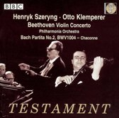 Violin Concerto No.2/Partita No.2