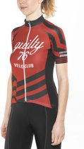 guilty 76 racing Velo Club Pro Race Jersey Dames, red Maat XL