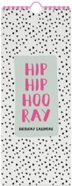 Hip Hip Hooray Verjaardagskalender
