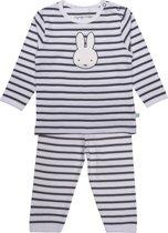 Nijntje unisex pyjama, antracite - maat 62/68