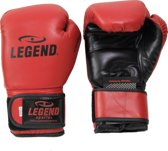 Legend PowerFit & Protect Bokshandschoenen Donker Rood  14 oz