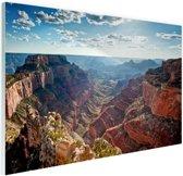 Grand Canyon Cape Royal  Glas 120x80 cm - Foto print op Glas (Plexiglas wanddecoratie)