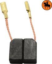 Koolborstelset voor Black & Decker 5413 - 6,3x8x13,5mm