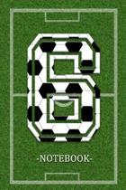 Soccer Notebook 6