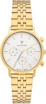Renard Elite 35.5 Chronograaf horloge  - Goudkleurig
