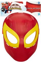 Ultimate Spider-Man Web Warriors: Role Play Hero Mask - Iron Spider