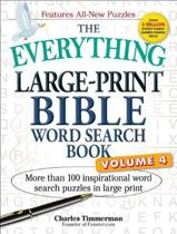 The Everything Large-Print Bible Word Search Book, Volume 4