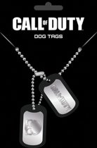 Call Of Duty logo dog tags -metal