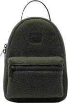 Herschel Supply Co. Nova Mini Rugzak 9L - Sherpa Fleece Dark Olive