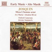 Early Music - Josquin: Missa L'homme arme, etc / Summerly