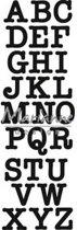 Marianne Design Craftable Mal Klassiek alfabet CR1417