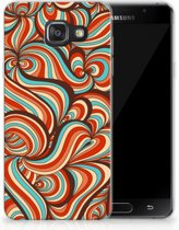 Samsung Galaxy A3 2016 TPU Hoesje Design Retro