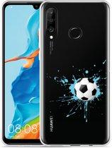Huawei P30 Lite Hoesje Soccer Ball