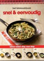 Omslag van 'Fotokookboek Snel & eenvoudig'