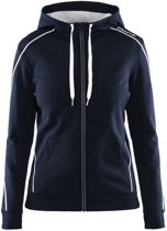 Craft In-The-Zone Full Zip Hood women dark navy l