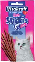 Vitakraft Cat Stickis Slim - Zalm & Forel - 25 g