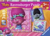Ravensburger Trolls 3 puzzels van 49 stukjes