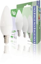 HQ HQLE14CND3P04 Led-lamp E14 Kaars 5.9 W 470 Lm 2700 K
