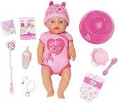 Baby Born Soft Touch Pop Meisje Blauwe Ogen