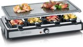 Severin RG 2346 Raclette-party - Steengrill - 8 Personen