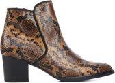 Gabor dames boot - Bruin multi - Maat 37,5