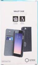 Qtrek Samsung Galaxy S7 Gel Wallet Case Black