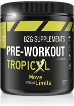 BZG Supplements - Pre Workout - 300 gram - Tropical