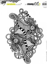 Carabelle Studio • cling stamp XXL zentangle