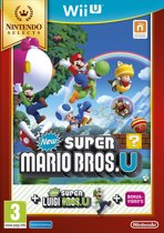 New Super Mario Bros. + New Super Luigi U - Nintendo Selects - Wii U