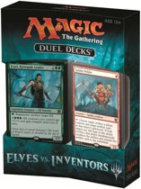 Magic The Gathering Elves vs Inventors Duel Deck