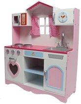 Kinderkeuken / speelkeuken Teddy Playa - Roze/Paars/Wit